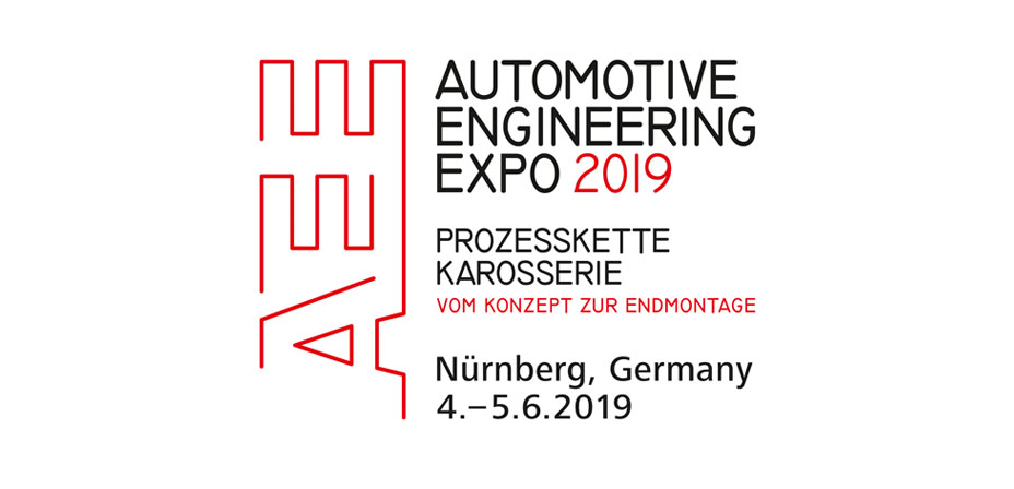 Messelogo der Automotive Engineering Expo 2019